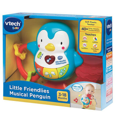 Vtech วีเทค ตุ๊กตาเพนกวินมีเสียงดนตรี เสริมพัฒนาการเด็ก