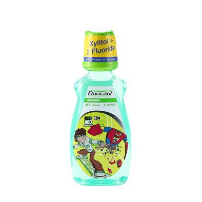 Fluocaril ฟลูโอคารีลคิดส์ น้ำยาบ้วนปาก 6+ปี กรีน 250มล.