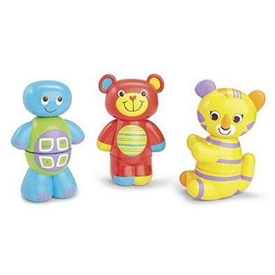 BRU Infant & Preschool บรู ชุดของเล่น สแตคเคเบิล แอนิมอล มิกซ์อัพ