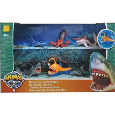 Animal Zone แอนิมอลโซน ชุดฟิกเกอร์สะสมรูปสัตว์ทะเล