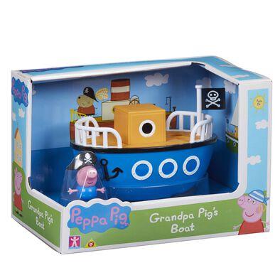Peppa Pig เป๊ปป้า พิก ของเล่นชุดเรือคุณปู่