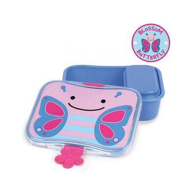Skip Hop สคิพฮอพ กล่องข้าว/ขนม สำหรับเด็ก ลายผีเสื้อ