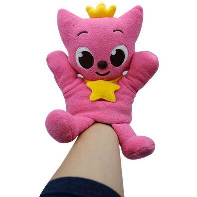 Pinkfong Baby Shark พิงค์ฟง เบบี้ชาร์ค ตุ๊กตาผ้าหุ่นมือ