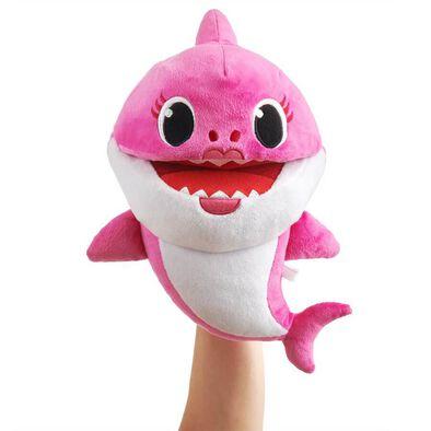 Pinkfong พิงค์ฟอง ตุ๊กตาหุ่นมือ ลายหม่ามี้ชาร์ค ร้องเพลงได้
