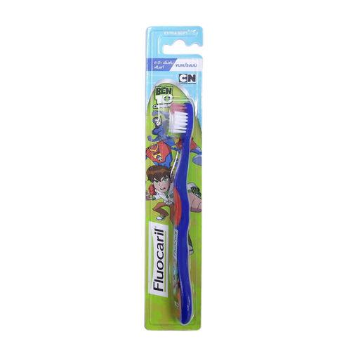 Fluocaril ฟลูโอคารีลคิดส์ แปรงสีฟัน 6+ ปี ขนมน คละสี