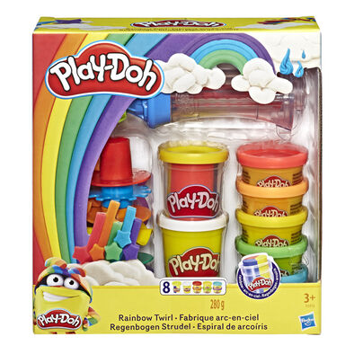 Play-Doh เพลย์โดว์ ชุดแป้งโดเรนโบว์เซ็ท