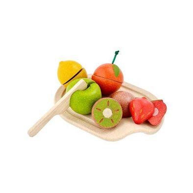 Plantoys แปลนทอยส์ ชุดของเล่นไม้เซ็ทผลไม้