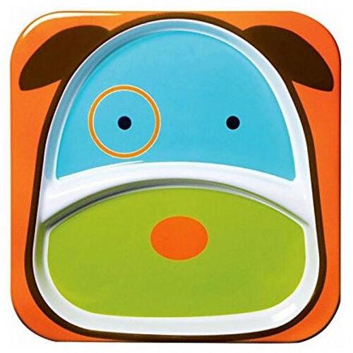 Skip Hop สคิพ ฮอพ จานใส่อาหารสำหรับเด็ก ลายสุนัขแสนน่ารัก