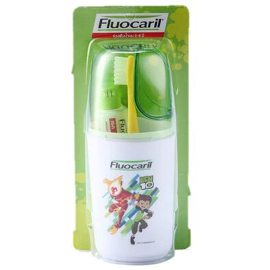 Fluocaril ฟลูโอคารีลคิดส์  ชุดแปรงสีฟัน 2-6 ปี