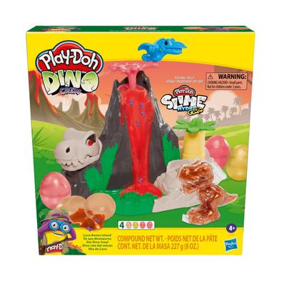 Play-Doh เพลย์โดว์ สไลม์ ไดโน ครูว์ ลาวา โบน ไอส์แลนด์