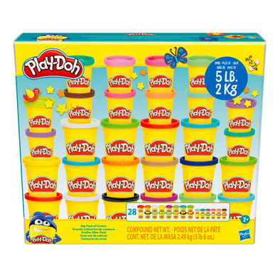 Play-Doh เพลย์โดว์ บิ๊กแพ็กออฟคัลเลอร์