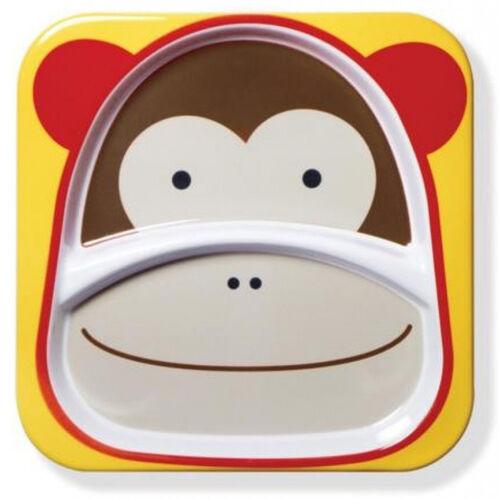 Skip Hop สคิพ ฮอพ จานข้าวสำหรับเด็ก รูปหน้าลิงน้อย