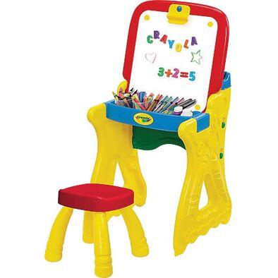 Crayola เครโยล่า กระดานวาดเขียน เพลย์ แอนด์ โฟลด์ อาร์ต สตูดิโอ
