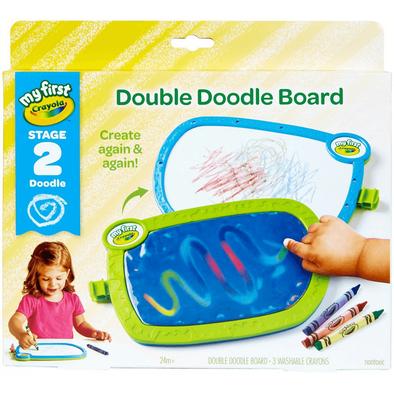 Crayola เครโยล่า ชุดกระดานวาดรูป2หน้าแบบพกพา