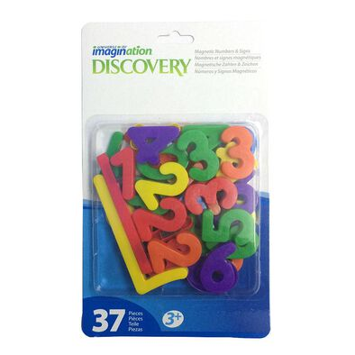 Universe Of Imagination ยูนิเวิร์ส ออฟ อิเมจิเนชั่น ตัวเลขและสัญลักษณ์มีแม่เหล็ก 37 ชิ้น