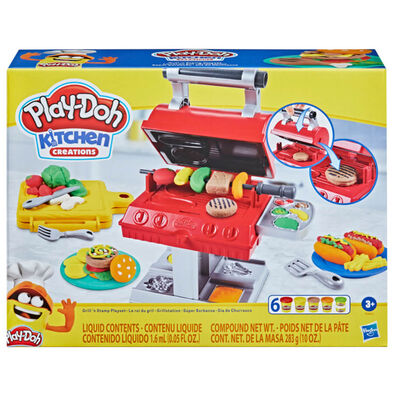 Play-Doh Kitchen Creation เพลย์โดว์ คิทเช่น ครีเอชั่น กริลล์ แอนด์ สแตมป์ เพลย์เซ็ต