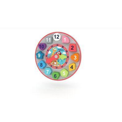 J'adore ฌาดอร์ ของเล่นไม้ นาฬิกาเสริมทักษะ