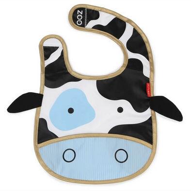 Skip Hop สคิพฮอพ ผ้ากันเปื้อนสำหรับเด็ก ลายลูกวัวน้อย