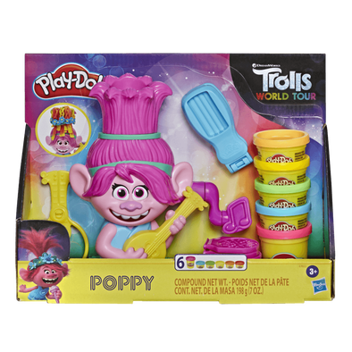 Play-Doh เพลย์โด โทรลส์ ป๊อปปี้