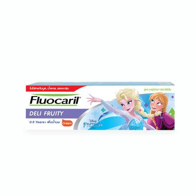 Fluocaril ฟลูโอคารีลคิดส์ ยาสีฟัน เดลิฟรุ๊ตตี้ 65 กรัม