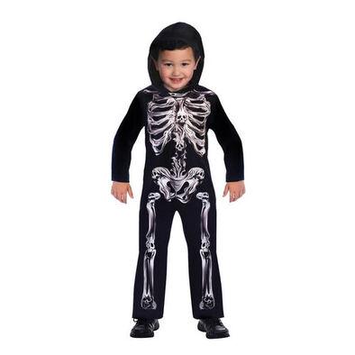 Halloween ฮาโลวีน Spooky Skeleton Costume