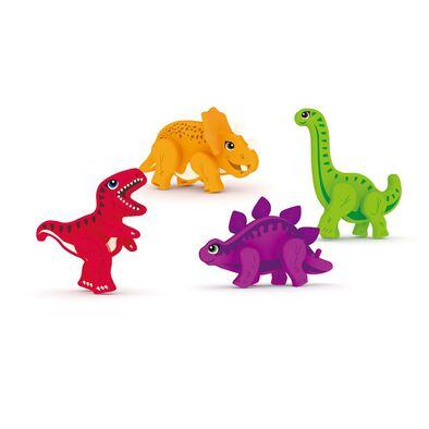 J'adore ฌาดอร์ ของเล่นไม้ ชุดฟิกเกอร์ธีมไดโนเสาร์