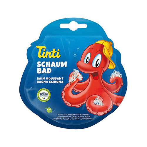 Tinti ทินตี้ สบู่บับเบิ้ลสีแดง
