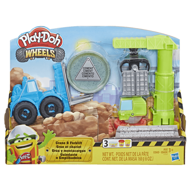 Play-Doh Wheels เพลย์โดว์ วีลส์ เครน แอนด์ โฟล์คลิฟท์